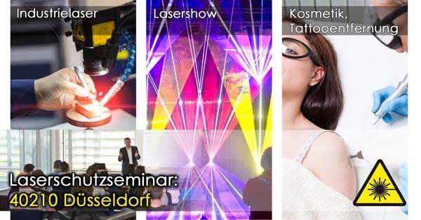 40210 Düsseldorf Laserschutzseminar, Laserschutzbeauftragter werden